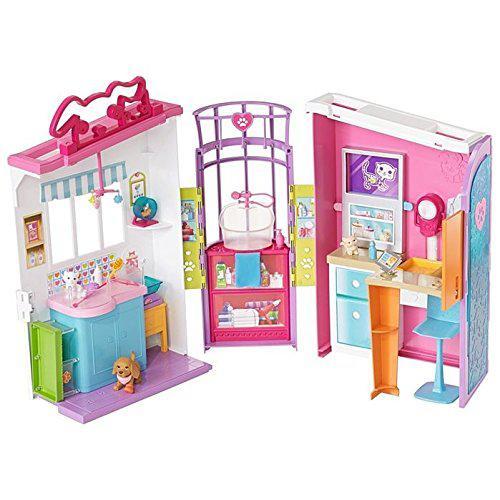 Барби Bетеринарный центр по уходу за питомцами Barbie Pet Care Center Playset FBR36