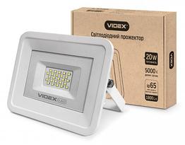 LED прожектор VIDEX 20W 5000K 220V