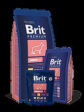 Корм Brit Premium (Брит Преміум) Dog Junior L для цуценят і молодих собак великих порід, 3 кг