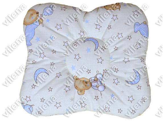 Детская подушка бабочка для новорожденных в кроватку, фото 2