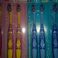 Детские зубные щетки Dentix Kids 2-6 лет (2 шт)