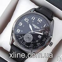 Мужские наручные часы Longines B188-1 на кожаном ремешке