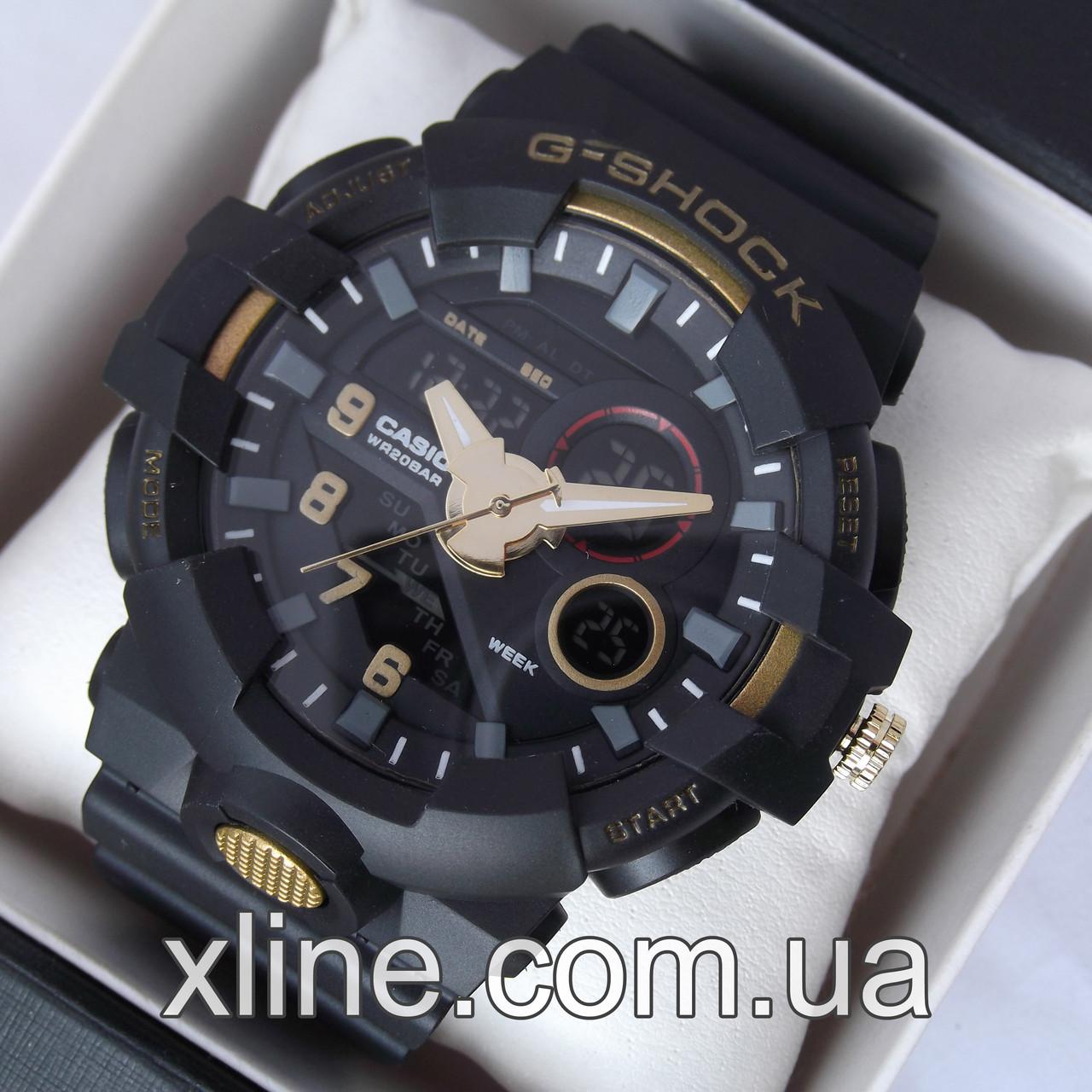 new products 08191 8108f Мужские наручные часы G-Shock GA-700 5522 на каучуковом ремешке - Bigl.ua