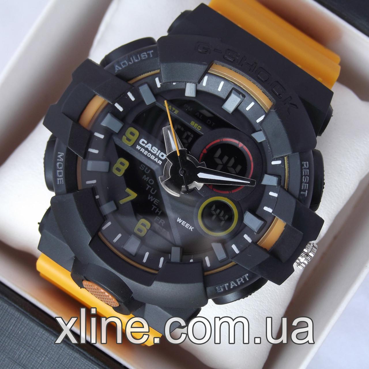 online store 3c704 5645f Мужские наручные часы G-Shock GA-700 5522 на каучуковом ремешке
