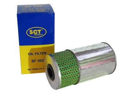 Фильтр масляный SCT SF 502, фото 2