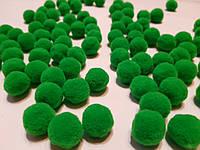 Помпоны 20 мм россыпью - цвет травка