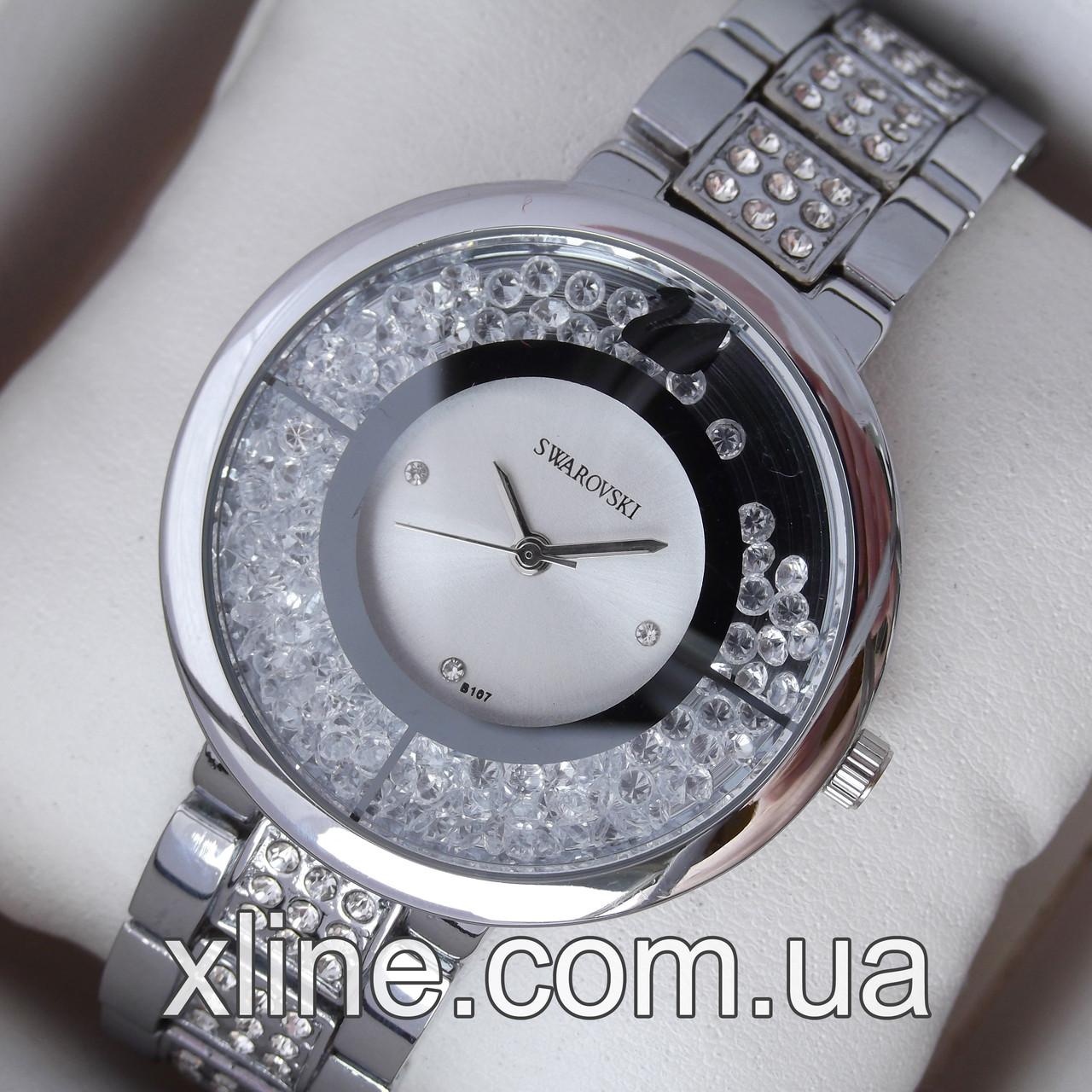 b86d5ab6 Женские наручные часы Swarovski B107 на металлическом браслете - XLINE в  Харькове