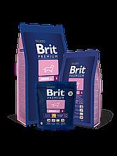 Корм Brit Premium (Брит Преміум) Dog Junior S корм для цуценят і молодих собак дрібних порід, 1 кг
