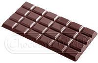 Форма для шоколада Плитка класcическая 100x50x5 мм Chocolate World 2017 CW