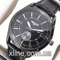 Мужские наручные часы Longines B188 на кожаном ремешке
