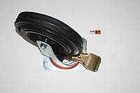 Колесо поворотное с крепежной панелью и тормозом 200/50-100 №3 для пластиковых контейнеров