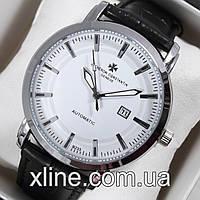 Мужские наручные часы Vacheron Constantin B233 на кожаном ремешке