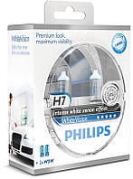 Philips WhiteVision  H7+W5W, комплект 2шт.+ 2шт.