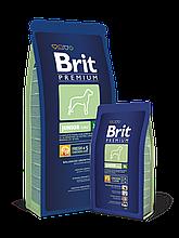 Корм Brit Premium (Брит Премиум) Dog Junior XL для щенков и молодых собак гигантских пород, 15 кг