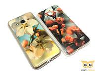 Силиконовый чехол Sakura для Samsung Galaxy J3