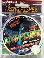 Леска Winner Kingfisher 100м, Ø0.22мм, 7.4кг