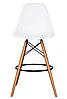 Стул для визажиста, стул для бара, стул для администратора, стул для кассира (Тауэр Вуд белый), фото 5