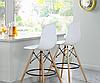Стул для визажиста, стул для бара, стул для администратора, стул для кассира (Тауэр Вуд белый), фото 4