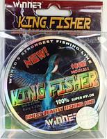 Леска Winner Kingfisher 100м, Ø0.30мм, 12.6кг