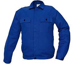 Костюм (полукомбинезон с курткой) рабочий RALF Хлопок 100% синий, фото 3
