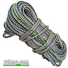 Шнур полипропиленовый фал плетеный Ø 14(50метров) с сердечником, фото 2