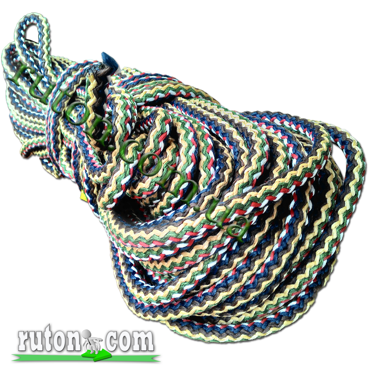 Фал полипропиленовый плетеный с сердечником 14 мм 50 м