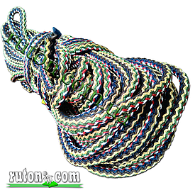 Шнур поліпропіленовий фал плетений Ø 14(50метров) з сердечником