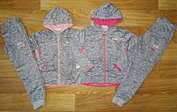 Трикотажный костюм 2 в 1 для девочек оптом, Sincere, 134-164 см,  № CВ-1780, фото 1