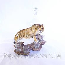 Подставка-бар для рюмок Тигр