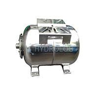 Гідроакумулятор горизонтальний нержавіючий WHTO 24