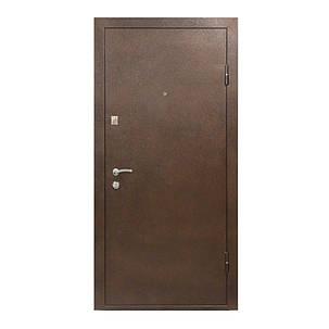 Двери входные металические (улица) Министерство дверей ПУ-55 метал+мдф, фото 2