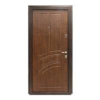 Двери входные металические (улица) Министерство дверей ПУ-55 метал+мдф
