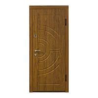 Двери входные металлические Министерство дверей 860*2050 левая ПО-08 дуб золотой мдф+мдф