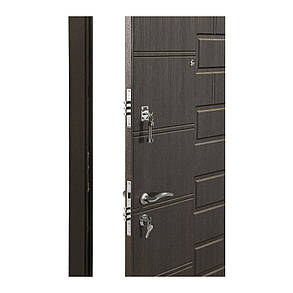 Двери входные Министерство дверей ПО-21 венги структурный , фото 2
