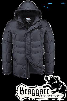 Красивая мужская зимняя куртка Braggart арт. 1998, фото 2