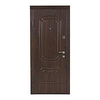 Двери входные Министерство дверей ПО-01 винорит орех коньячный для улицы