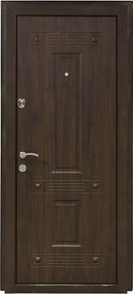 Двери входные Министерство дверей ПК-28 винорит уличная орех коньячный, фото 2