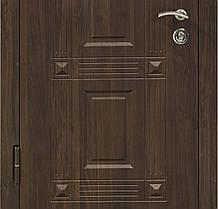Двери входные Министерство дверей ПК-28 винорит уличная орех коньячный, фото 3