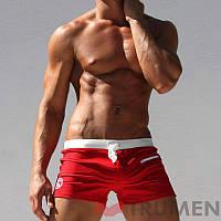 Пляжные плавки (боксерки) AQUX, 111-2-Red