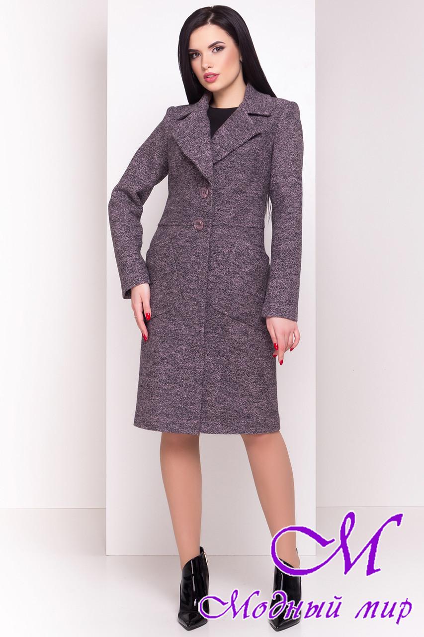 "Шерстяное весеннее-осеннее пальто (р. S, M, L) арт. ""Габриэлла 4546"" - 21587"