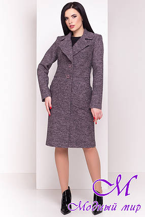 "Шерстяное весеннее-осеннее пальто (р. S, M, L) арт. ""Габриэлла 4546"" - 21587, фото 2"