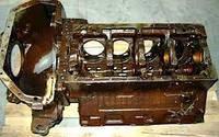 Блок цилиндров ЗИЛ 130 с картером сцепления в сборе (пр-во АМО ЗИЛ г. Москва)