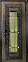Входные двери серия MODERN (Винорит) с ковкой , фото 2