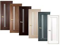 Двери межкомнатные Новый стиль Дверное полотно Делла сатин