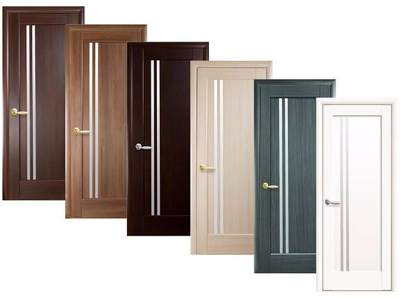 Двери межкомнатные Новый стиль Дверное полотно Делла сатин, фото 2
