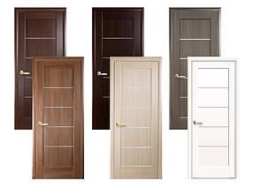 Двери межкомнатные Новый стиль Дверное полотно Мира (стекло сатин)