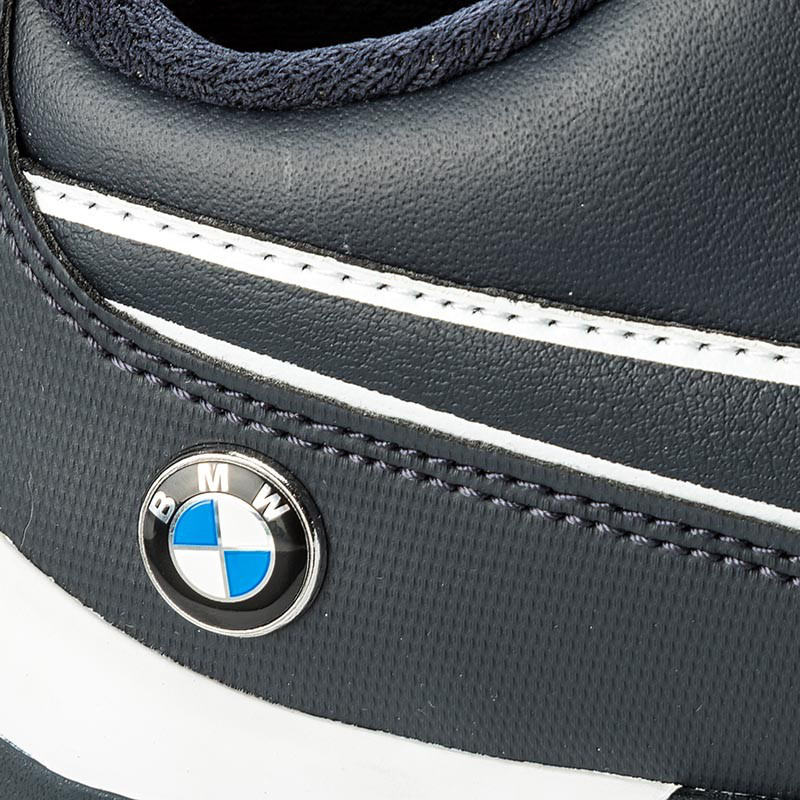 ... кожаные Кроссовки мужские Puma BMW Ms Drift Cat 7 305986 01 (темно-синие,  ... a15c5f4c6ac