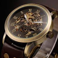 Мужские механические часы Winner Salvador с автоподзаводом