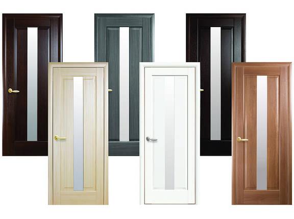 Двери межкомнатные Новый стиль Дверное полотно Премьера сатин, фото 2