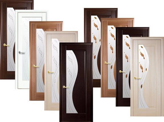 Двери межкомнатные Новый стиль Дверное полотно Эскада сатин, фото 2